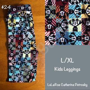 LuLaRoe Collection for Disney L/XL leggings